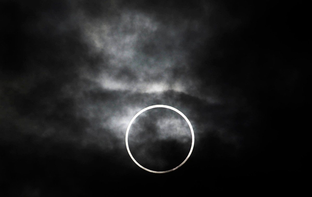 eclipsed.